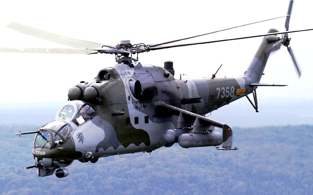 Mil Mi-24 Hind attack helicopter wallpaper 1