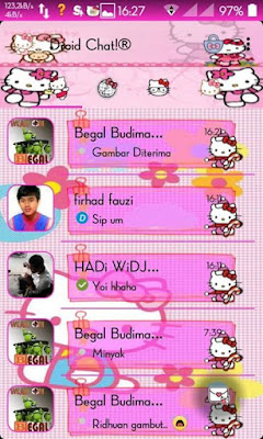 BBM + BBM2 Mod BETA Tema HELLO KITTY V 290.0.0.29 Apk (CLONE)
