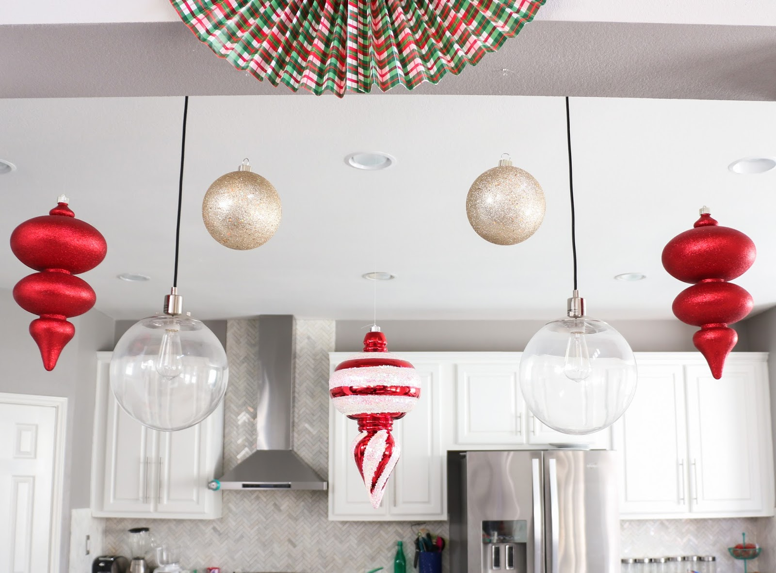 Christmas Home Tour Part 2 - The Living Room and Kitchen - A Kailo ...