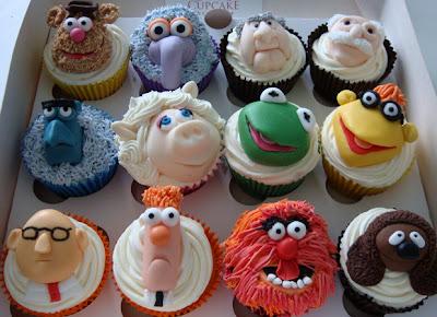 Muppet cupcakes = mupcakes