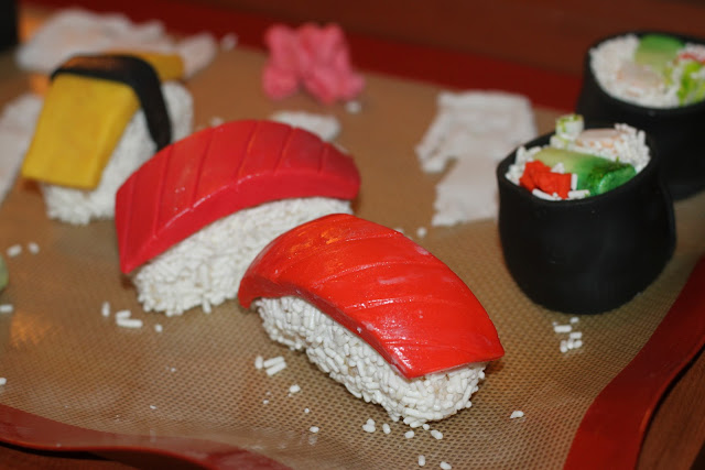 Rare Roses: It's a Piece of (Sushi) Cake!