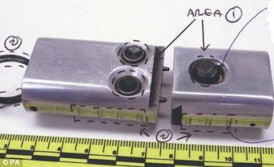 4 inch key chain gun