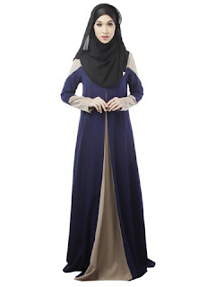 Model baju terbaru untuk wanita hijab edisi lebaran masa kini
