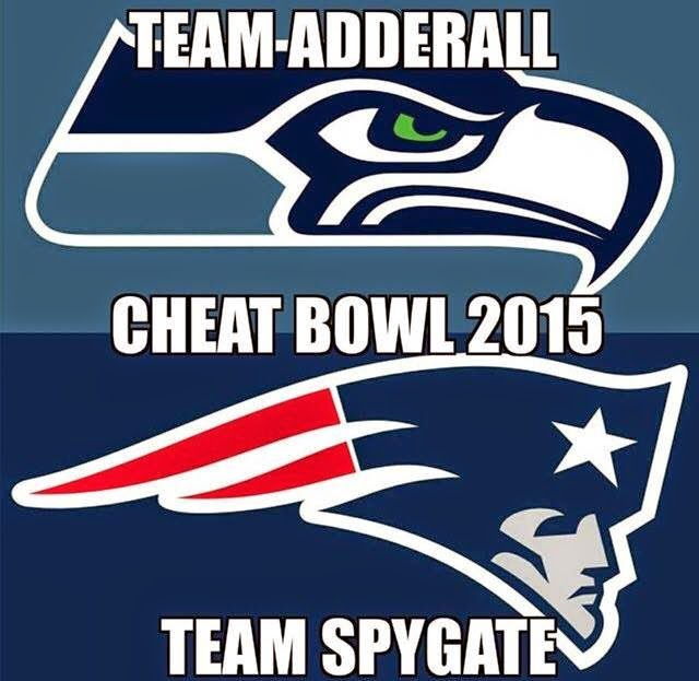 team adderall. cheat bowl 2015. Team Spygate