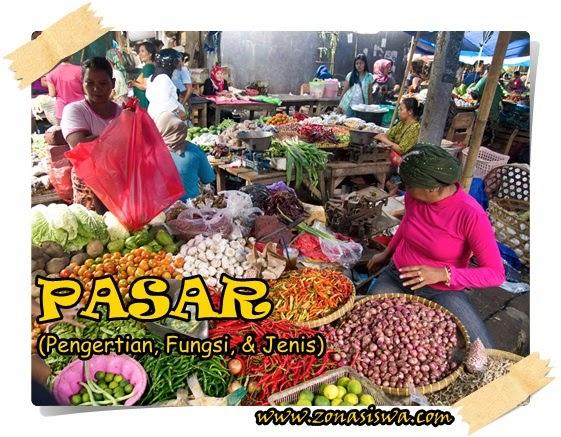 Pengertian, Fungsi, dan Jenis-jenis Pasar | www.zonasiswa.com