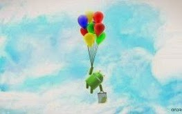 Android With Balloon Wallpaper HD