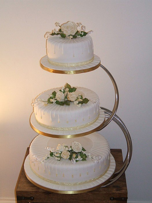 Wedding Cakes Best 2016 3 Tier Wedding Cakes In Cute Design - 3 Tier Wedding Cakes