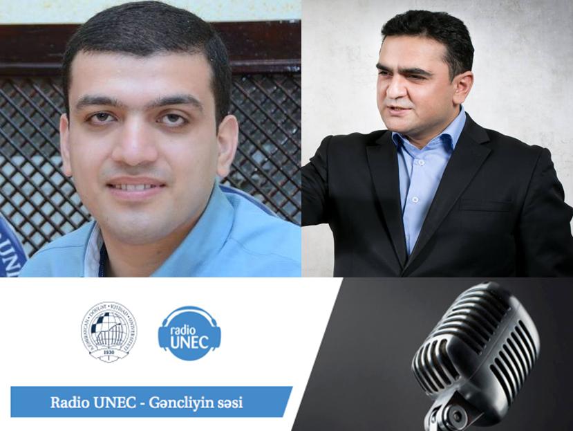 Radio UNEC Vizyon verlişi