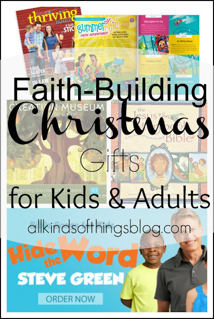 Faith-Building Christmas Gifts