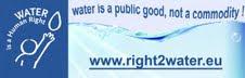 Petizione Europea per L'acqua Pubblica