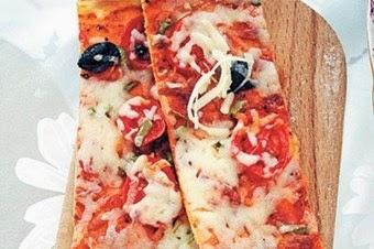 Uzun dilim pizza tarifi