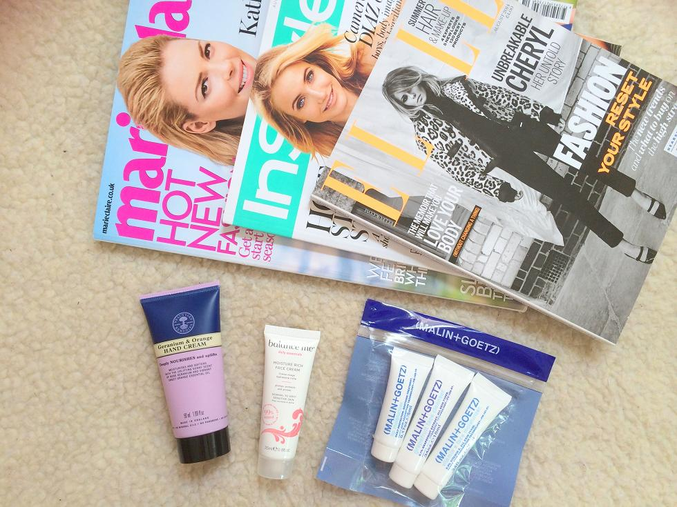 august magazine freebies uk