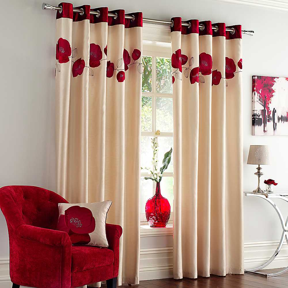 New home designs latest modern homes curtains designs ideas for Home drapes and curtains