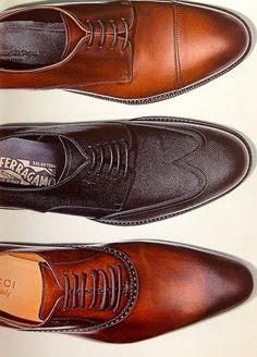 Men's Shoe: The Versatile Brown Leather Shoe