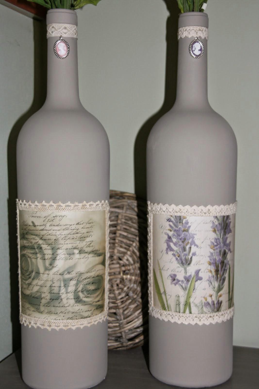 Mooie grote Wijnflessen/vazen