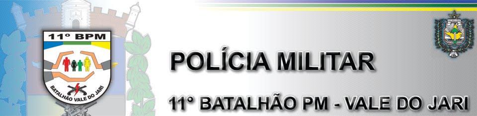 11º BATALHÃO PM – VALE DO JARI