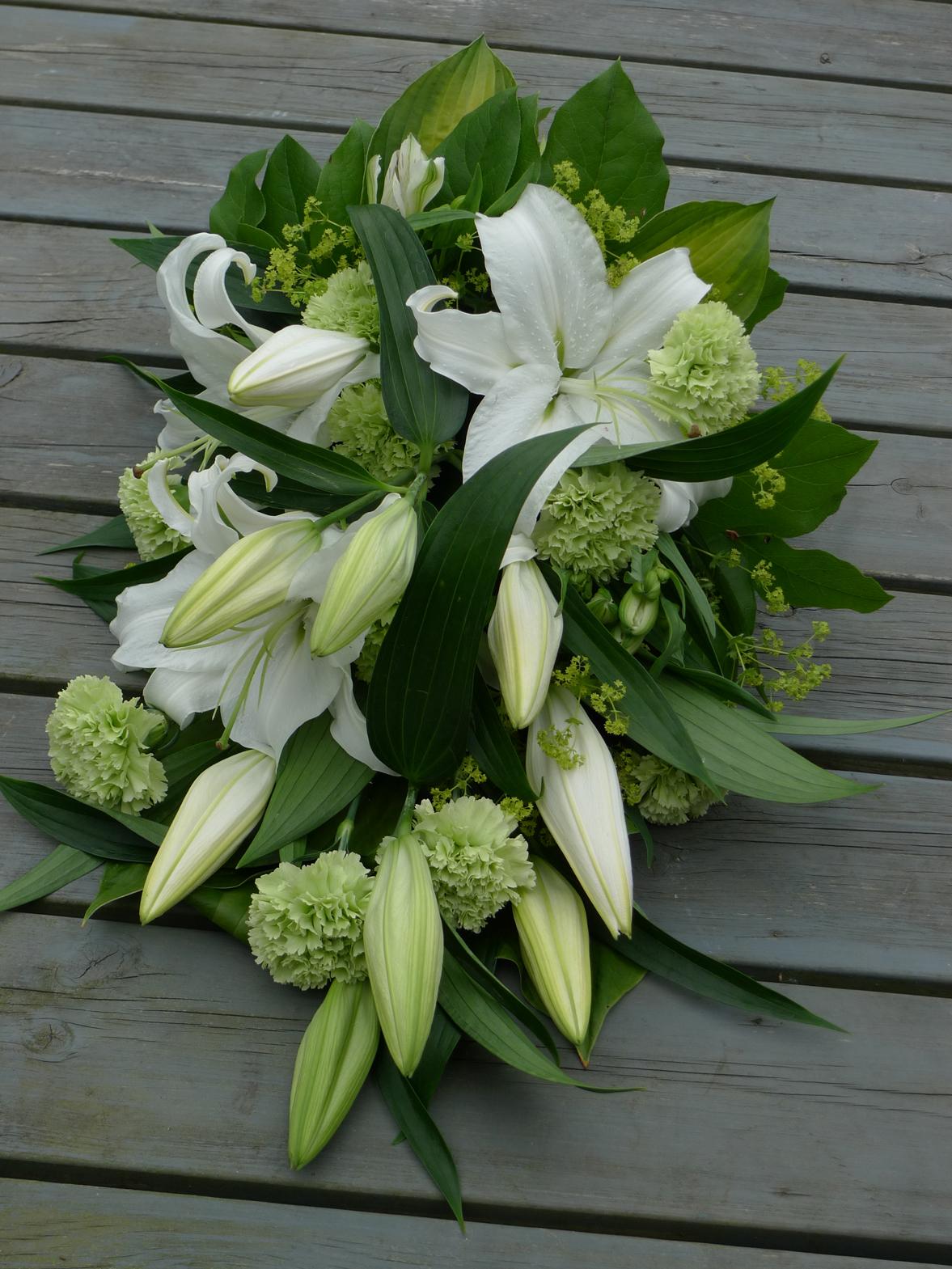 vilken blomma på begravning