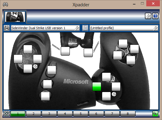 скачать программу Xpadder для Windows 8 - фото 6