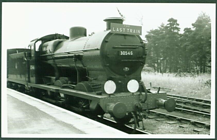 Last Meon Valley/ Gosport train 1953