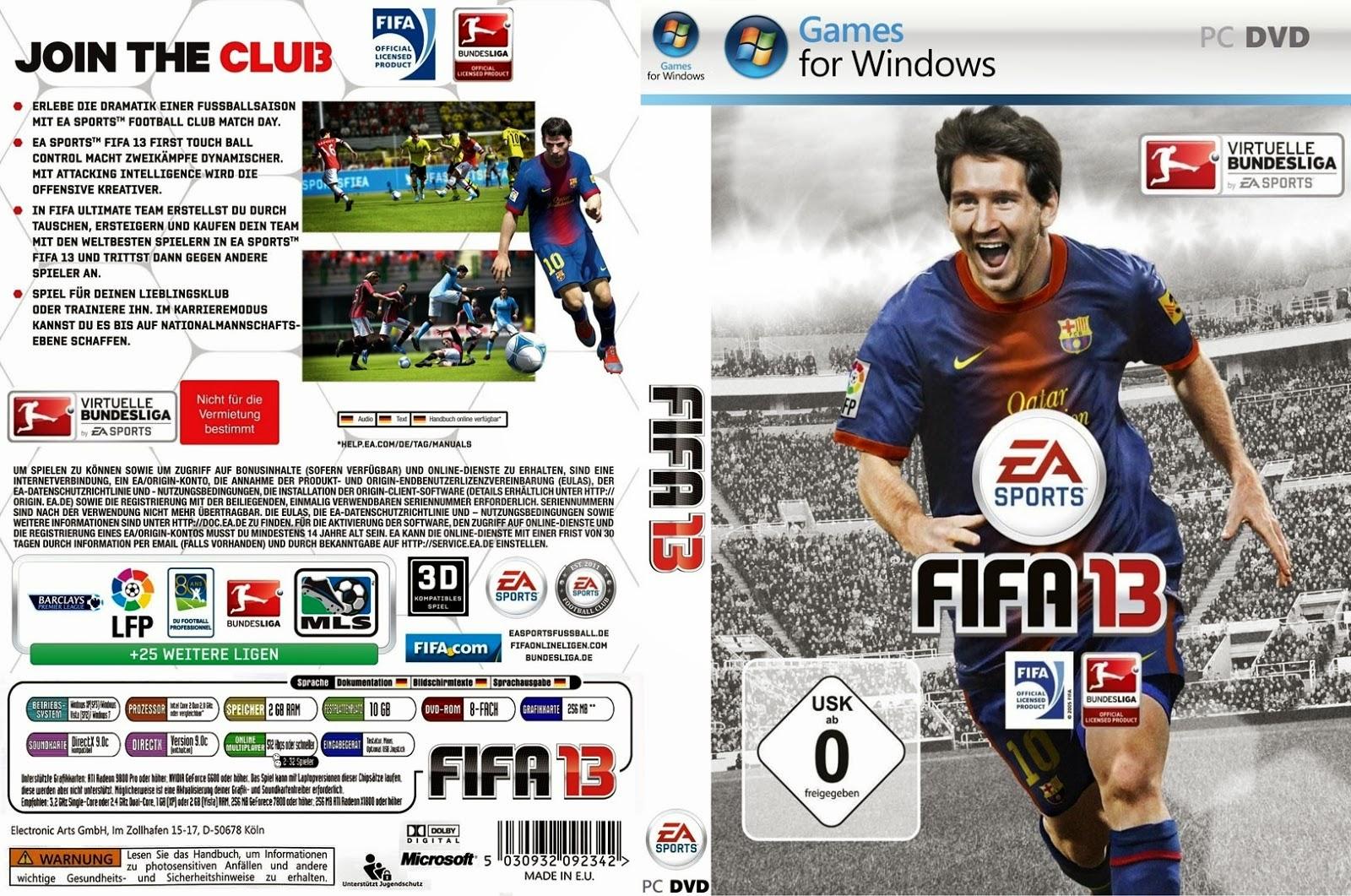 baixar FIFA 2013
