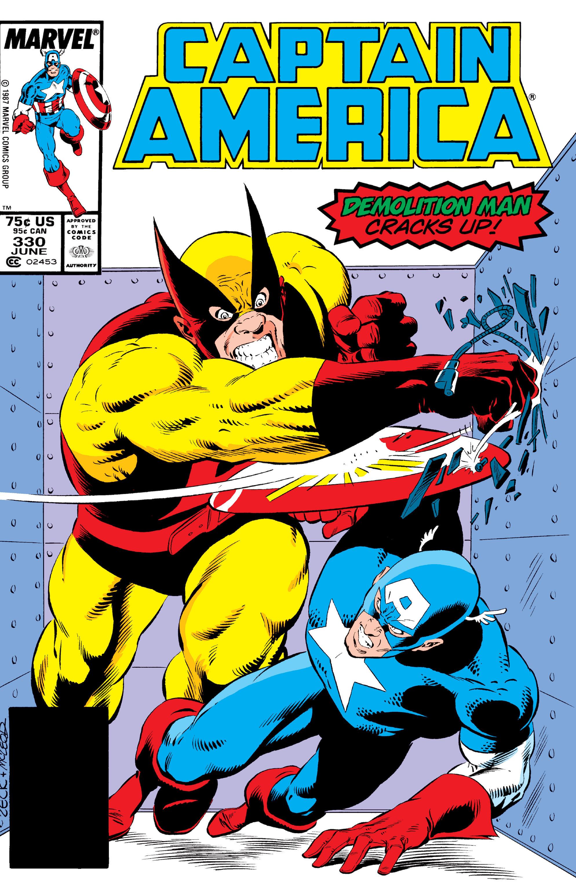 Captain America (1968) Issue #330 #259 - English 1