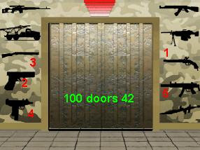 door 42 to 100 doors level 43 solution