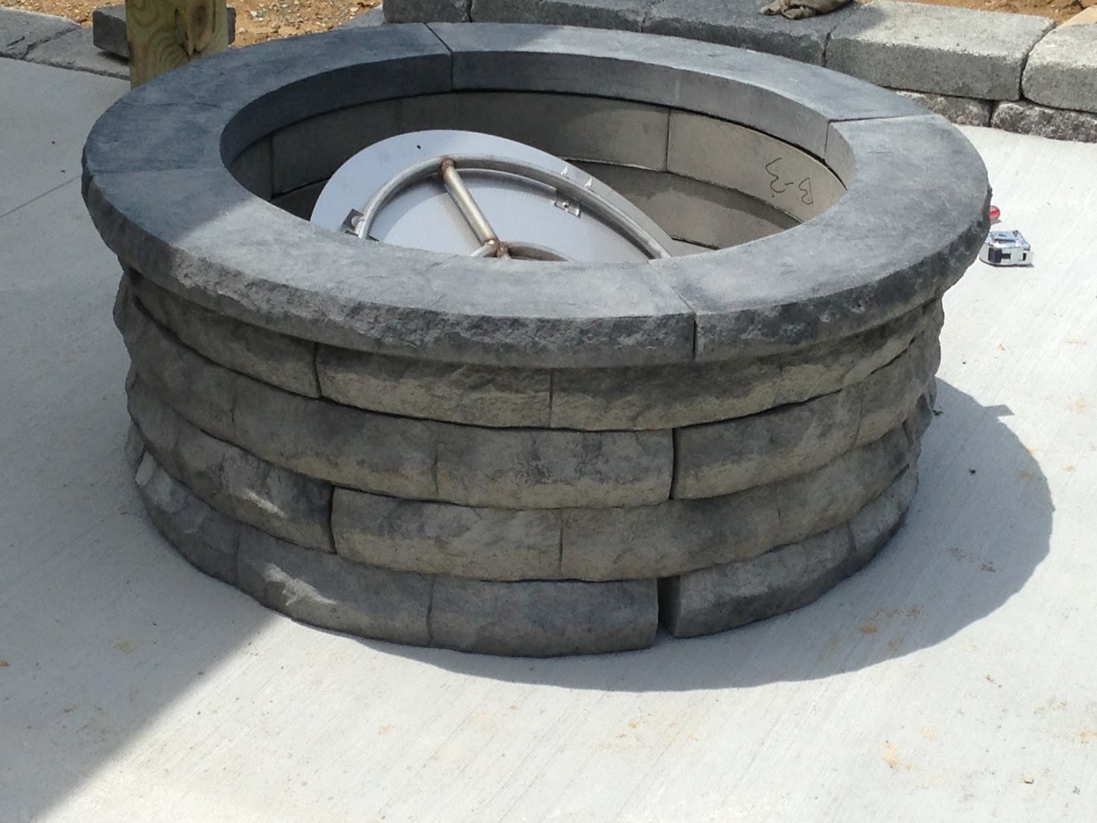 builderscrete cellulose products gas pit kit
