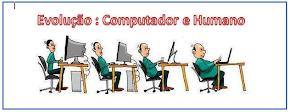 EVOLUÇÃO : Computador e Humano