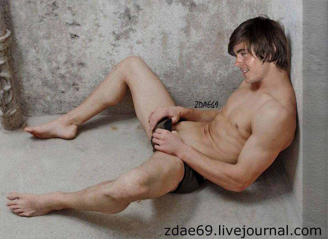Fakes Zac Efron