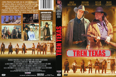 Carátula, Cover, Dvd: Texas tren | 1988 | Once upon a Texas train
