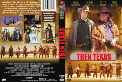 Carátula, Cover, Dvd: Texas tren | 1988 | Once upon a Texas train