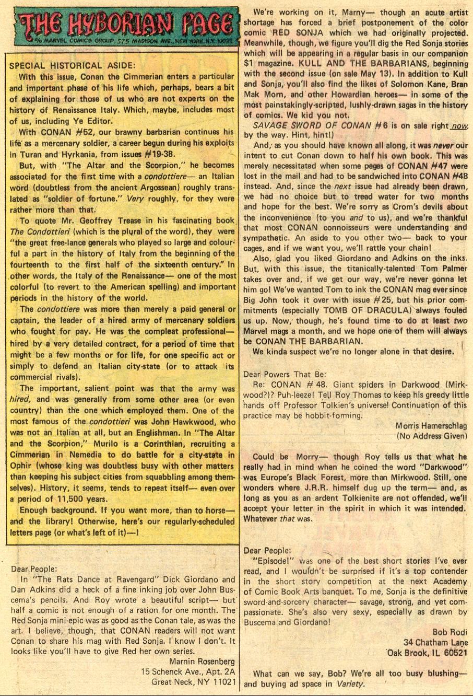 Conan the Barbarian (1970) Issue #52 #64 - English 22