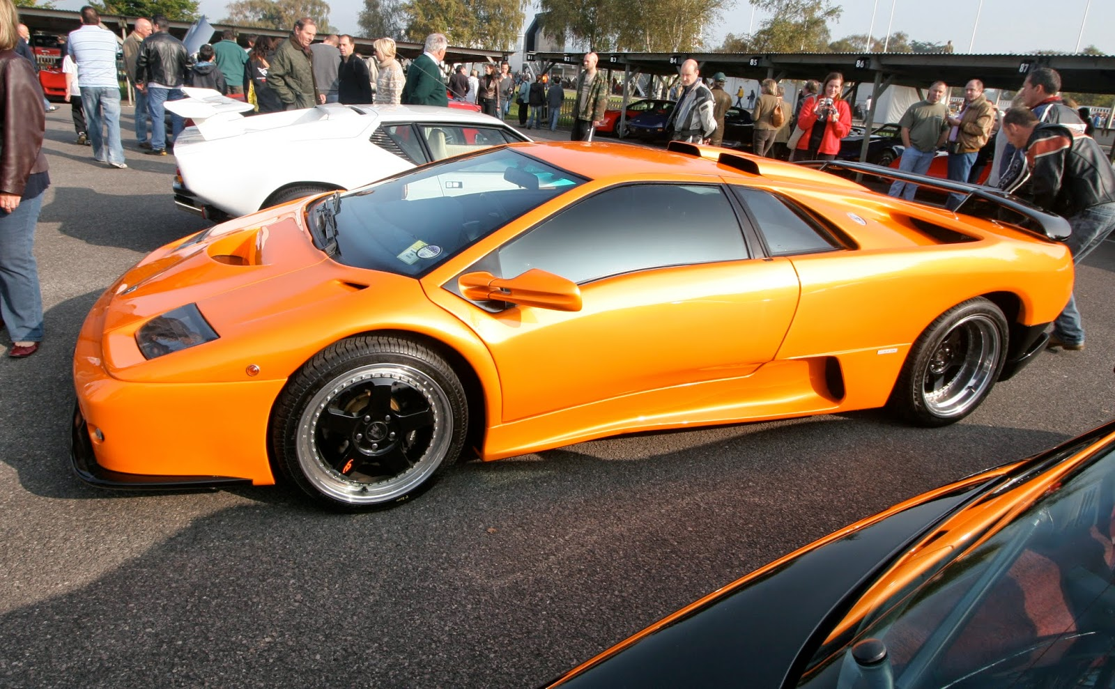 The Diablo would be Lamborghini's mainstay throughout the '90s; it was continually updated throughout the various changes in ownership.