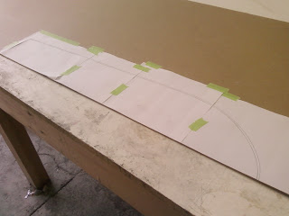 cafe seat patternmaking
