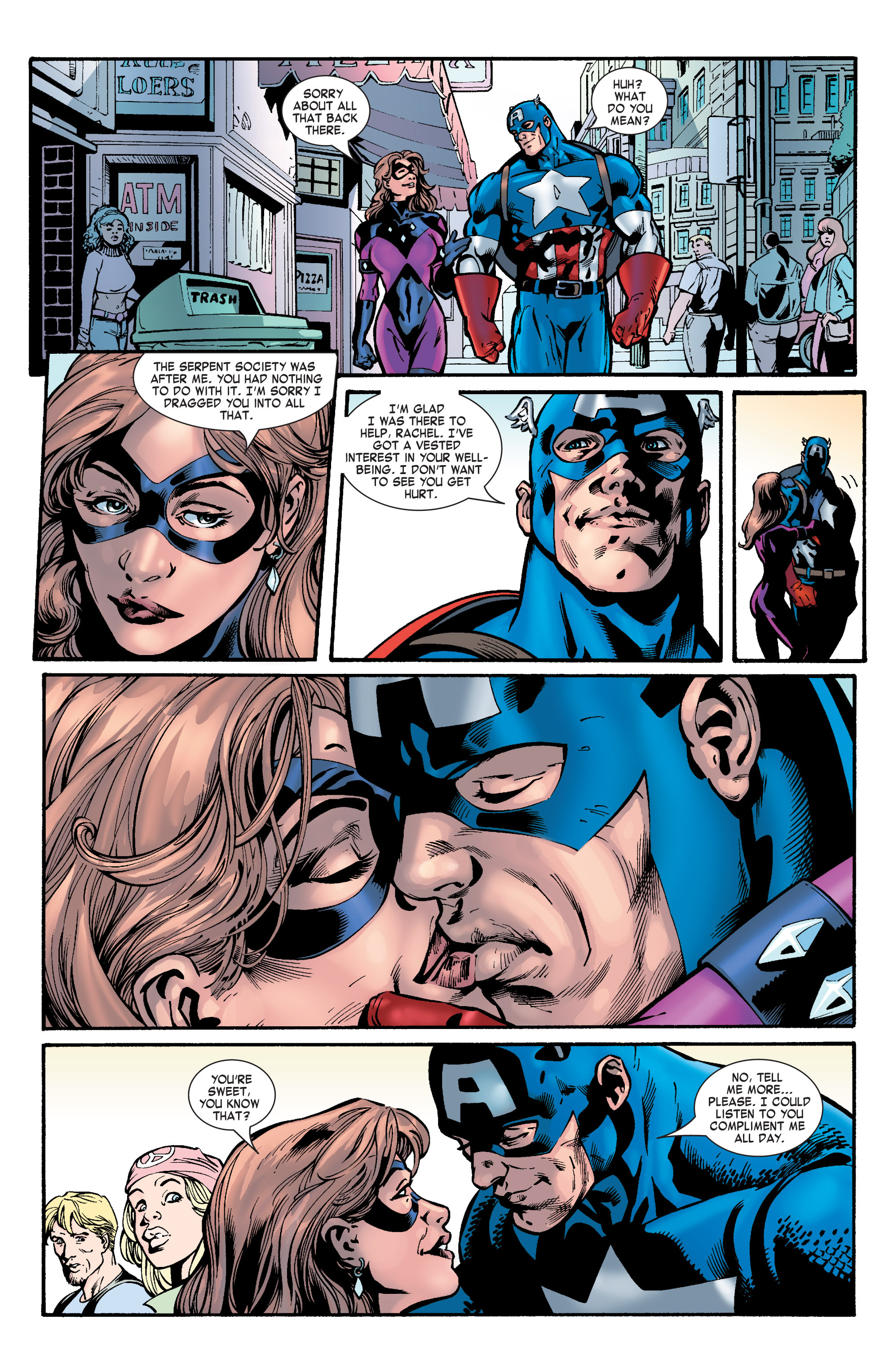 Captain America (2002) Issue #31 #32 - English 16
