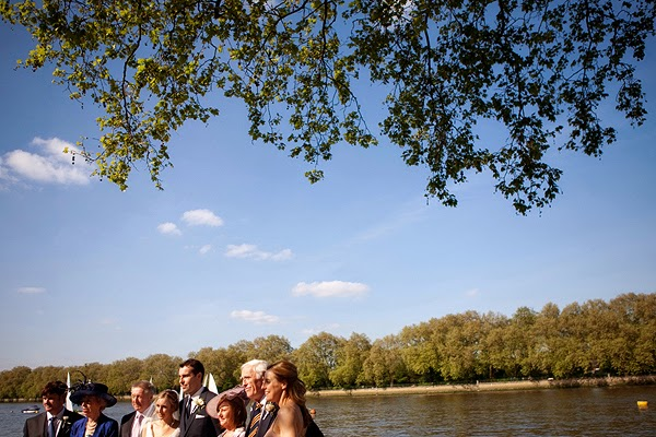Wedding at London Rowing Club on the Thames.