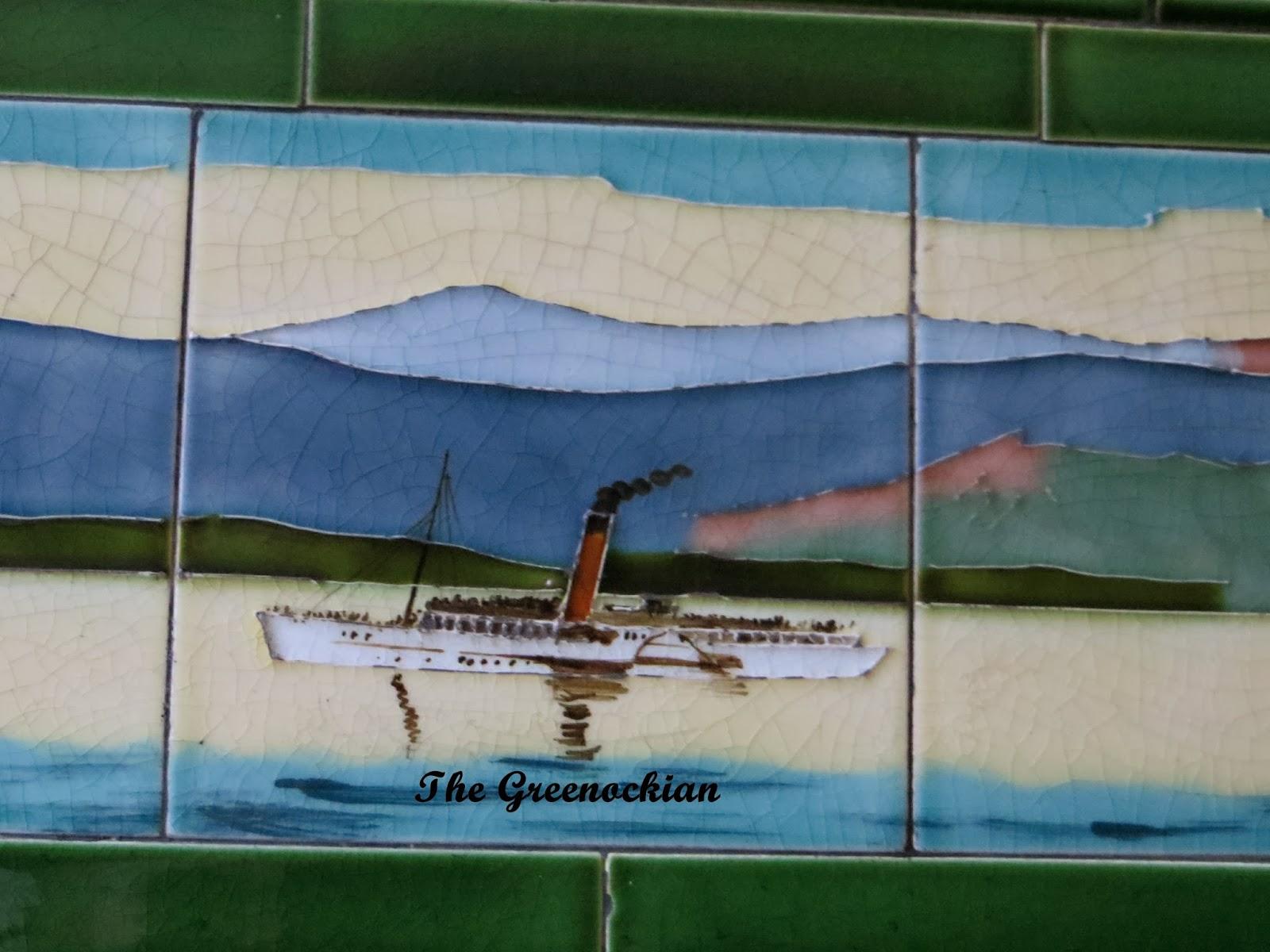 Tenement Tiles   The Greenockian