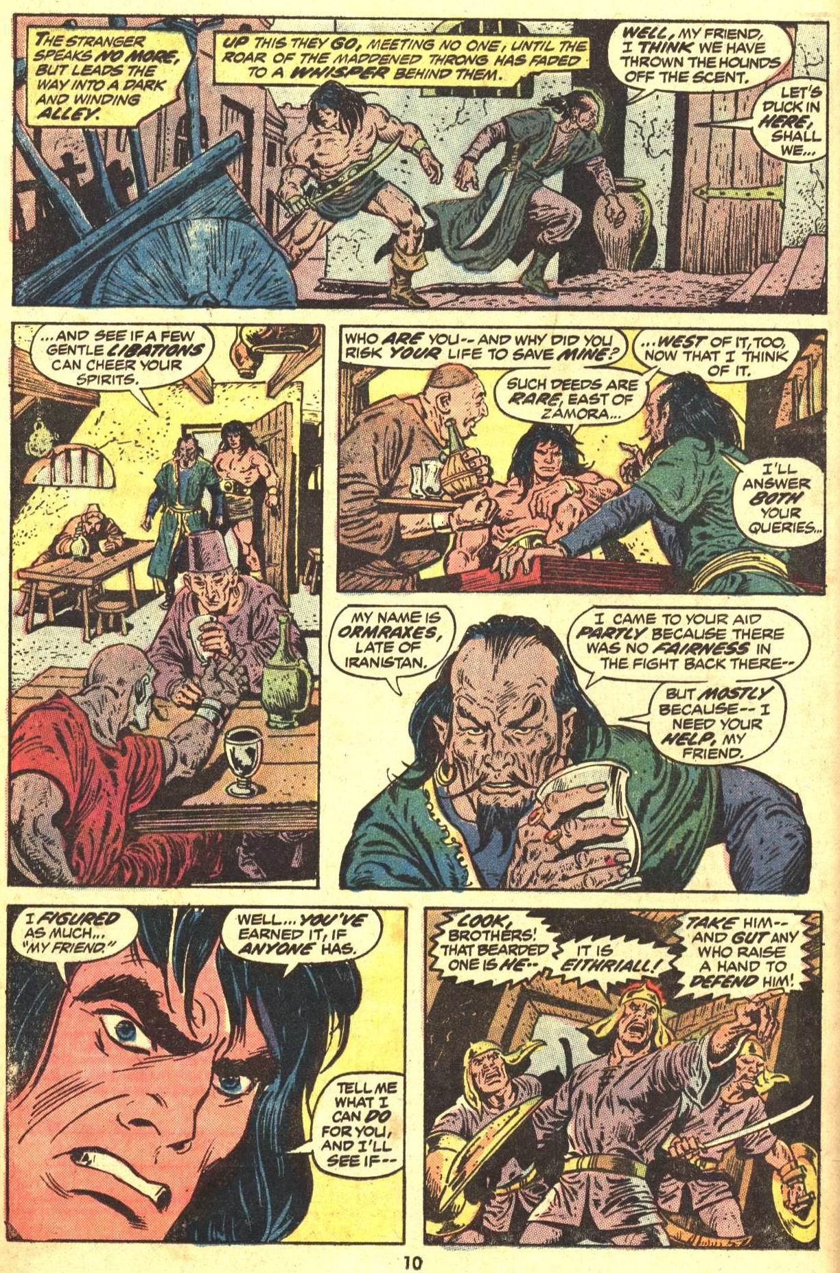Conan the Barbarian (1970) Issue #29 #41 - English 8