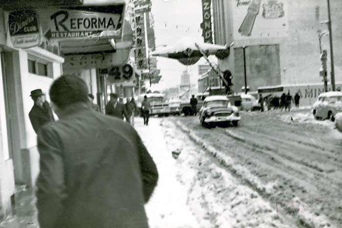 Resultado de imagen para nieve 11 de enero de 1967