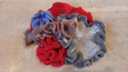 Crochet Twin Cities Roving Crochet Reporter Crochet Coral Reef