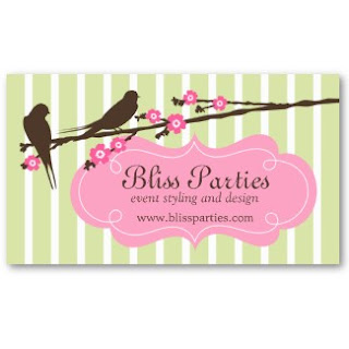Business card showcase by socialite designs event planner business the business text is inside a doodle banner i created lots of different color variations of this design it makes a wonderful business card for anyone colourmoves