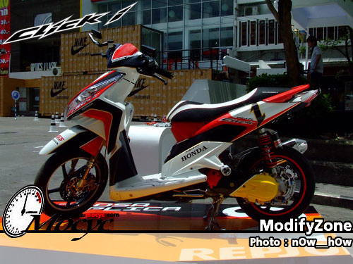 Modifikasi Honda Vario 125 PGM-FI 2013 Bag.1