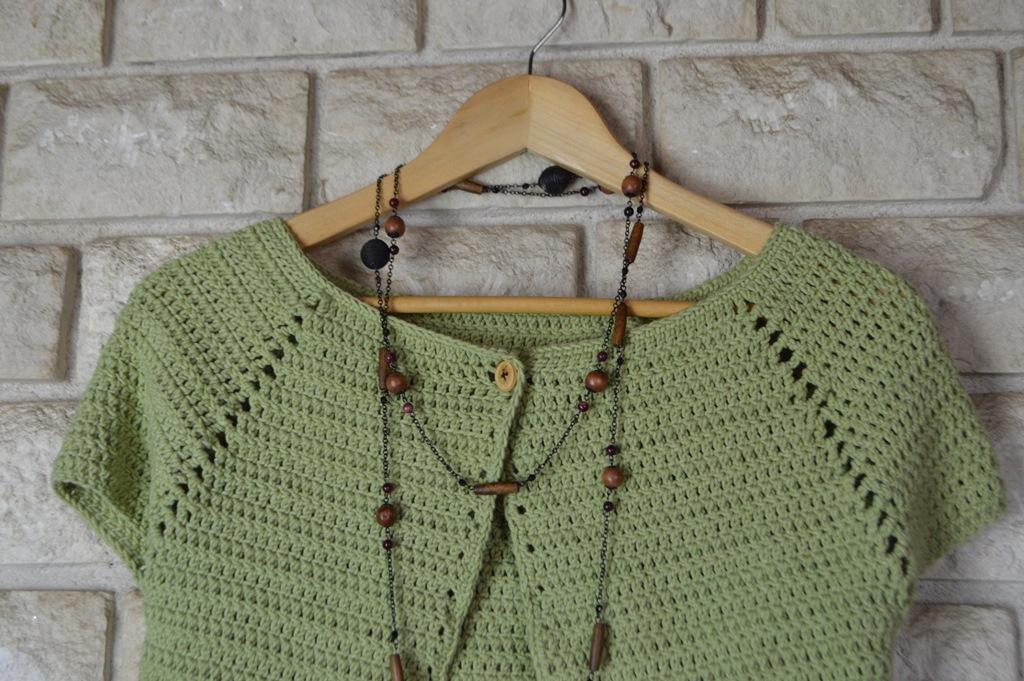 Patrón de chaqueta de ganchillo para todas las tallas - Elenarte