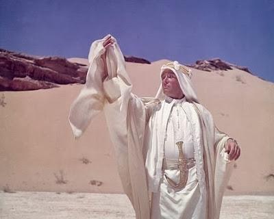 Peter O'Toole en un momento del film
