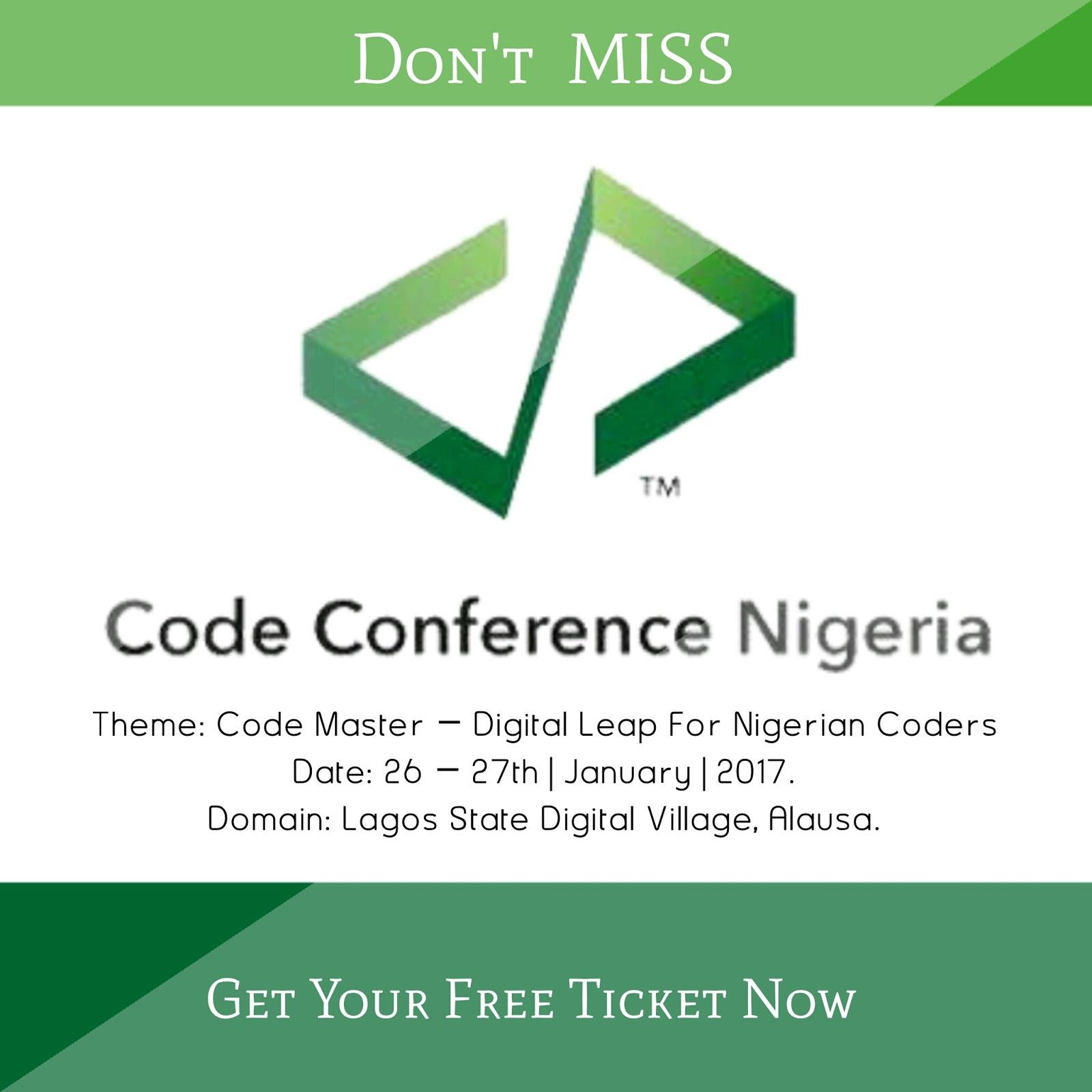 Code Conference Nigeria