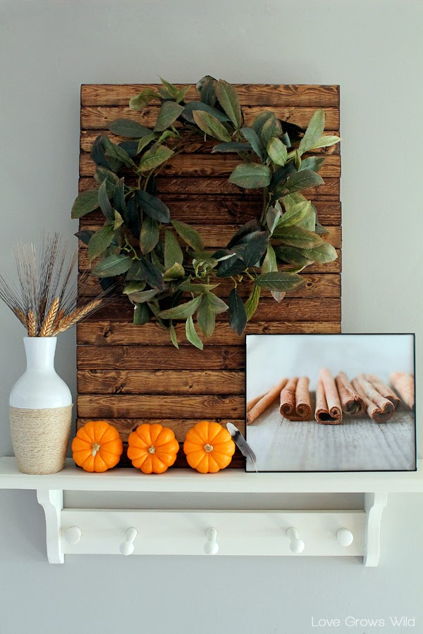 Fall Decorated Kitchen Decor