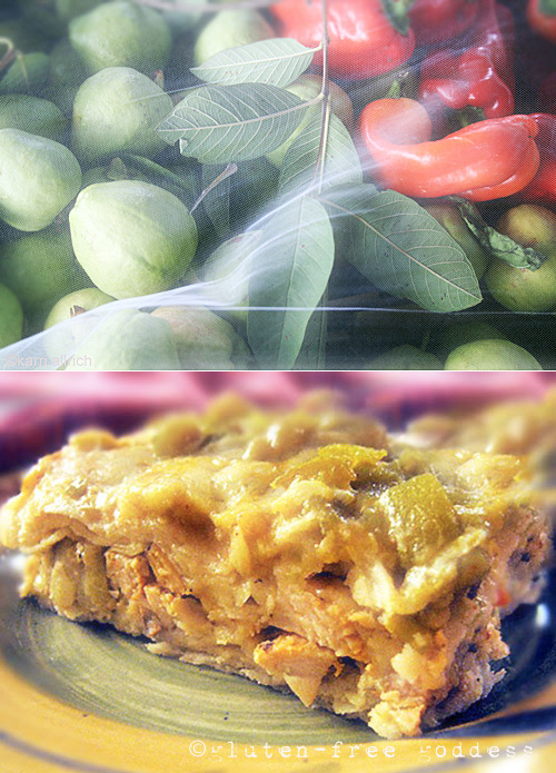 Chicken And Artichoke Enchilada Bake Recipe — Dishmaps