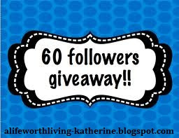 60 followers giveaway!