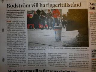 """Thomas Bodström vill ha tiggeritillstånd. """"Vi kräver tillstånd för allting i Sverige"""". Och det är argumentet för att vi ska införa ännu mer tillståndsprövning.. Och människor bara köper att friheten plundras allt mer.. Vad har det blivit av oss. När slutade människor ifrågasätta?"""