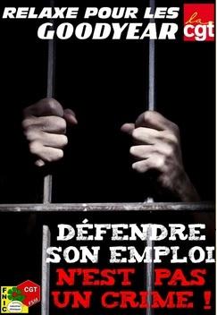 Défendre son emploi n'est pas un crime !